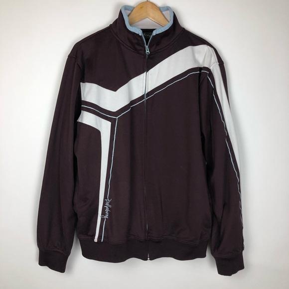 Billabong Other - Billabong Vintage Full Zip Warm Up Jacket Size XL